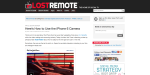 Lost Remote homepage